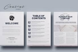 Ebook Template Ebook Canva Template 20 Fully Editable Pages