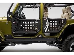 body armor rear trail doors for 07 14 jeep wrangler unlimited jk 4 door quadratec part no 11149 1001 manufacturer part no jk 6136 289