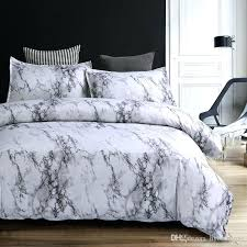 grey and white duvet cover modern marble printed bedding set brief grey white duvet cover sets