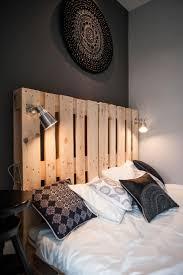 S Design Interieur Chambre A Coucher Tete Lit Palette Bois