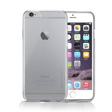 apple iphone 6 plus silver. apple iphone 6s plus / 6 case slimprotect thinnest air clear iphone silver 2