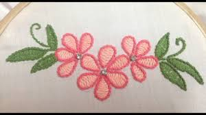 Stitch N Time Embroidery Designs 16 Hand Embroidery Palestrena Stitch Moti Tanka Coral