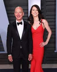MacKenzie Bezos, Amazon CEO Jeff Bezos ...