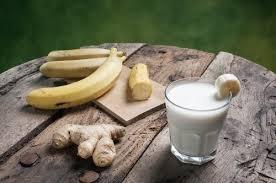 Resultado de imagem para   Suco de Banana Com Gengibre
