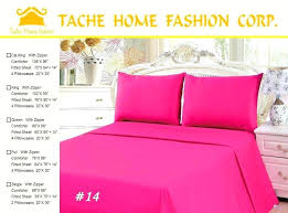 elegant teen girl black white hot pink bedding twin full comforter set damask scroll polka dot