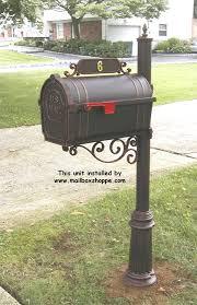 hanover mailbox and post