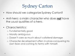 sydney carton a tale of two cities ppt video online  4 sydney