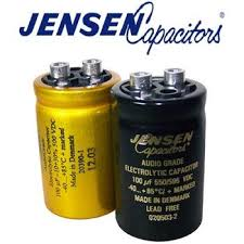 jensen radial electrolytic capacitors screw terminal hifi jensen radial electrolytic capacitors screw terminal