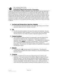 Lab Report Format 07 Teacher