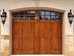 wood garage doorsWood Garage Doors  Wooden Overhead Door  Paint Grade Garage Doors