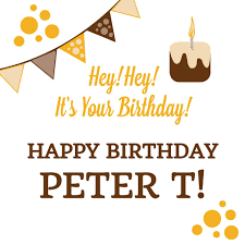 For all coffee lovers, are you looking for the best happy birthday memes to send to your friends and family? Larue Coffee A Very Happy Birthday To Peter Facebook