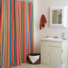 Curtain: stunning striped shower curtain Navy And White Striped ...