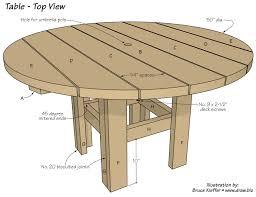 outdoors design patio table p digital art gallery diy round patio table plans