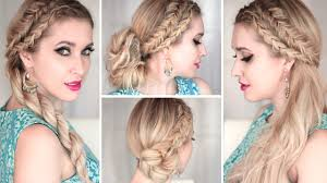 Quick Hairstyles For Braids 4 Cute And Easy Summer Hairstyles With Braids Everyday Prom