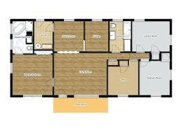 1500 sq ft house floor plans splendid ideas rectangular house plan sq ft 8 innovation design
