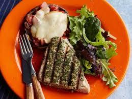 tuscan style grilled tuna steaks