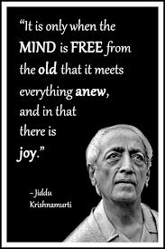 Jiddu Krishnamurti Quotes Classy Jiddu Krishnamurti Quote It Is Only When The Mind Is Free