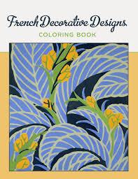 Ornamental Designs Photo Book French Decorative Designs Coloring Book Pomegranate