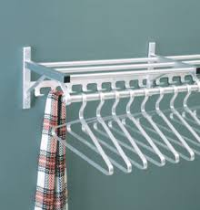 Mounted Coat Rack With Shelf More Glaro Satin Aluminum Wall Mounted Coat Racks 69