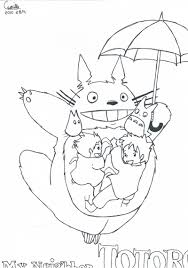 Small Picture mon voisin totoro coloriage Adult Coloring Pages Pinterest