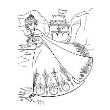 Frozen Kleurplaat Elsa Frozen Anna En Elsa Kleurplaten Animaatjes Nl
