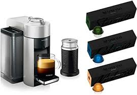 That's it, time to enjoy! Amazon Com Nespresso Vertuo Coffee And Espresso Machine Bundle By De Longhi With Aeroccino Milk Frother And Best Selling Coffees Included Kitchen Dining