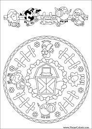 Disegni Per Dipingere Colour Mandalas Stampare Realizzazione 083