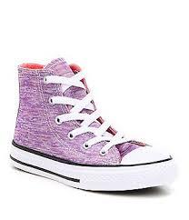 converse purple. converse girls´ chuck taylor® all star® hi top sneakers purple