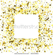 gold frame border design. Square Gold Frame Or Border Of Random Scatter Hearts  Design Element For Festive . O