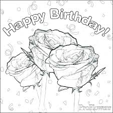 Birthday Coloring Pages For Kids Creative Ideas Happy Birthday