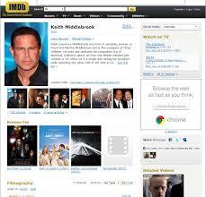 Click To View My IMDB Resume Now