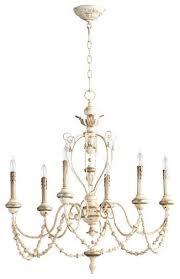 cyan design 05783 florine 6 light chandelier