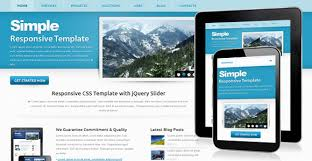Simple Website Templates Interesting Free Business Web Templates Css Codebluesolutions