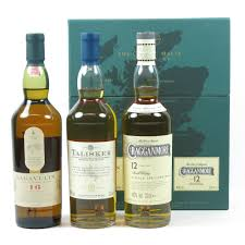 clic malt gift pack heavy malts cragganmore talisker lagavulin 3 x 20cl whisky auctioneer scotch whisky auctions whisky auction