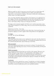 How To Write Emails To Recruiters Example Good Cover Letter Examples