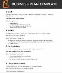 Basic Business Plan Template A Free Business Plan Template For Sales Reps