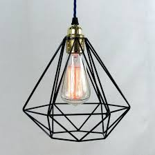 industrial cage pendant light ing s kmart shade diy