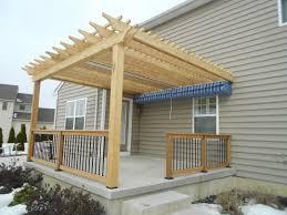 pergola canopies shade structures pergolas decks r us diy outdoor wood canopy ideas outdoor wood canopy