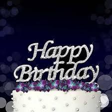 Online Shop Happy Birthday Cake Topper Kid Boy Girl First 1st Adult