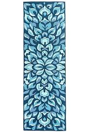 braided rug runner indoor outdoor beach house rugs mineral blue petal pushers jute runners braided rug runner washable runners
