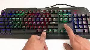 Bàn phím cơ Redragon Varuna K559 RGB dành cho game thủ - YouTube