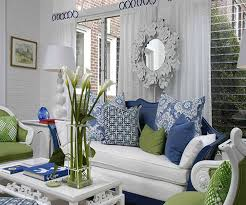 blue and green living rooms - Bing Images