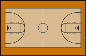 Basketball Court Diagram Layout Clipart Wikiclipart