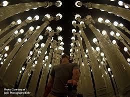 urban light by la artist christ burden
