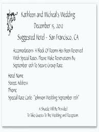 how to word hotel accommodations for wedding invitations wedding invitations hotel accommodation cards template invitation