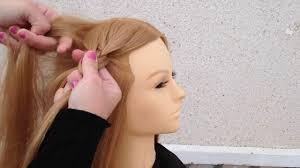 Easy Braids Hairstyleshaar Vlechtenhalf Haar Opstekenpienados Facielstips By Amal Hermuz Hair Tv