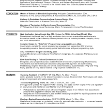 Sample Resume For Internship In Engineering Free Resumes Tips