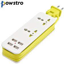 Ab/İngiltere/abd fiş uzatma soketi çıkış taşınabilir seyahat güç duvar şarj  şerit dalgalanma koruyucusu ile 4 USB 5V 2A akıllı şarj cihazı - Cep  Telefonu Aksesuarları > Pazarlik-Teklif.cam