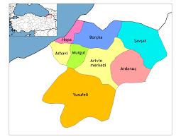 Image result for hopa haritası