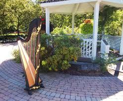 Valparaiso Harpist Wedding Ceremony Music At Ogden Gardens The